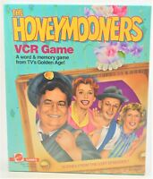 THE HONEYMOONERS Game by Mattel 1986 VCR Game Factory Sealed