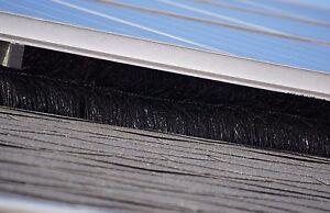 20 Meter Photovoltaikschutz Ø 15 cm, Marderschutz, Photovoltaik Reinigung Bürste