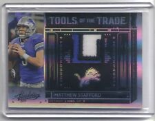 Matthew Stafford 2010 Absolute Tools Of The Trade Patch 29/50 Detroit Lions