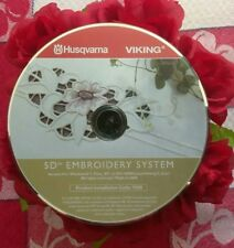 Husqvarna Viking 5D Embroidery Cd
