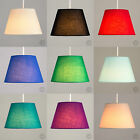 Modern Tapered Fabric Ceiling Light Pendant Shade Lampshades Lounge Lighting