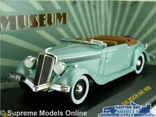 SALMSON S4E CAR MODEL 1:43 SIZE IXO MUSEUM MUS038 1938 GREEN CONVERTIBLE T34Z