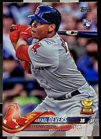 2018 Topps Series 1 Baseball Rafael Devers #18 RC Boston Red Sox Rookie Card