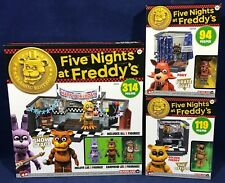 Five Nights At Freddy'S Lot McFarlane Construction Show Stage Pirate Cove Office