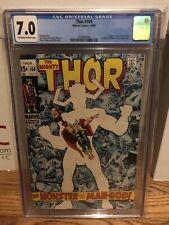Thor #169 - CGC 7.0 Galactus Origin