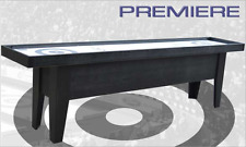 Curling Game Table 10' Premiere Table Curling Game Black ~ Cool Curling