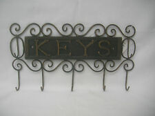 BROWN BRONZE METAL KEY HOLDER RACK