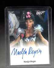 2015 JAMES BOND 007 ARCHIVES Nadja Regin auto card