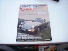 CAR       MAGAZINE       FROM  JULY   1989     ENGLISH MONTHLY