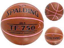 Spalding Tf-750 Tournament Breast Cancer Awareness Indoor Basketball Size 28.5