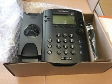 NEW Polycom VVX 301 6 Lines PoE SIP VoIP Business Media Phone (2200-48300-025)