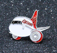 Pin CHUBBY pudgy Airbus A320 1 inch / 27mm metal Pin VIRGIN AMERICA