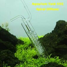 Aquarium Tank CO2 Diffuser Bubble Counter Spiral Glass Atomizer Tank Equipments
