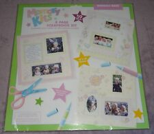 Girl Boy 12 x 12 SCRAPBOOK PAGE KIT PAPER CARDSTOCK SNUGGLE BUG 8 Page