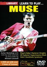 LEARN TO PLAY MUSE GUITAR LICK LIBRARY -2 DVD SET NEW!
