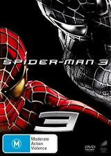 SPIDERMAN 3 - NEW & SEALED R4 DVD (TOBEY MAGUIRE, JAMES FRANCO, KIRSTEN DUNST)