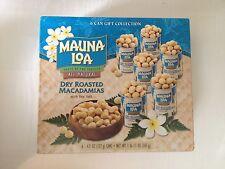 Mauna Loa Dry Roasted Macadamia Nuts 4.5 oz can (Pack of 6)