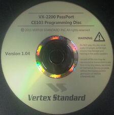 Vertex Standard CE103 for the VX-2200 PassPort Version 1.04