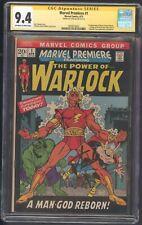 Marvel Premiere 1 Cgc 9.4 SS Lee 1st Him as Warlock 1st soul Gem Hulk Thor