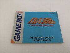 Kid Icarus Of Myths And Monsters Notice Nintendo Game Boy Gameboy FAH