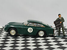 SCALEXTRIC ASTON MARTIN DB4 G.T C68 GREEN 60'S #9 1:32 USED UNBOXED