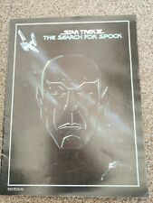 Star Trek The Search For Spock Original 1984 Commemorative Booklet