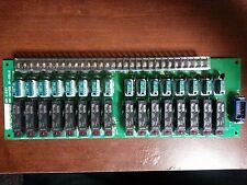 Muratec Murata CNC Relay Board RYBD-16 Z55-00475-00 Z90-17932-50 w2.0A fuses new