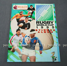 """RARE !!! COMPLETE Album """"RUGBY WORLD CUP 1995"""" PANINI MERLIN"""