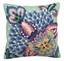 Collection D/'Art Cross Stitch Cushion Kit White Starfish CD5146