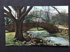 Vintage RPPC: Cumberland: #T16: Pelter Bridge, Rydal: BB London