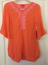 NWT Lilly Pulitzer Gauze Tunic Camelia Womens Top For Target XS NEW
