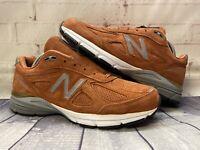 New Balance 990v4 Jupiter Burnt Orange Shoes M990JP4 D Men's Size 11 USA NEW