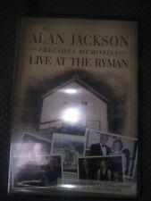 Alan Jackson: Precious Memories Live at the Ryman DVD 2006 Rare OOP