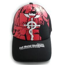 Anime Fullmetal Alchemist Baseball Cap Hat Cosplay Gift