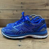 Asics Womens Gel-Nimbus 19 Running Shoes Blue T750N Low Top Lace Up Sneakers 9