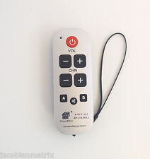 Gmatrix Best Big Button waterproof Universal Remote Control Vizio Sharp A-TV11