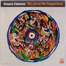 ORNETTE COLEMAN: Art of Improvisers. Atlantic SD 1572 Free Jazz Vinyl LP NM Wax