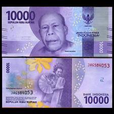 Indonesia 10000 Rupiah, 2016/2017, P-NEW, UNC>New Design