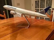 PacMin 1/100 Continental Airlines 777-200 Airplane Model Original Box, Near Mint