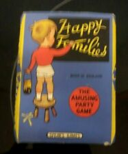 "1950's Happy Families Card Game - Spear's Game - ""The Amusing Party Game"" - Made"