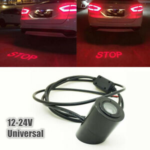 Laser Projector Stop Rider Flaming Refit Car Stop LED Logo Light Tail Lighting