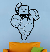 Stay Puft Man Wall Decal Ghostbusters Vinyl Sticker Home Mural Custom Decor 9