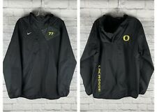 New listing NCAA Nike Storm Fit Oregon Ducks Lacrosse Team Issued Jacket size men's small