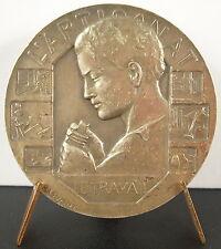 Medaglia l merito.'artigianto artisant il lavoro s Rasumny art deco 1978 medal