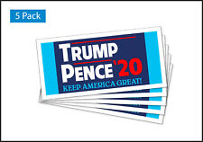 5-Pack Car Magnets - Trump Pence 20 2020 Trm351