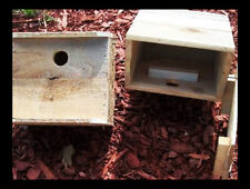 smaller woodpecker house.1=for smaller woodpeckers. LADDER-BACK. DOWNY,ACORN,ETC