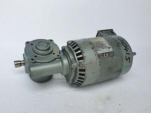 PARVALUX Geared Motor 120VAC 270/320 RPM Ratio:10, 124 W