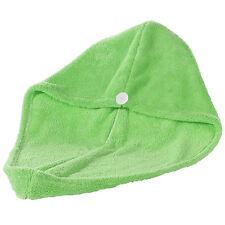 Toallas de baño y albornoces color principal verde de microfibra