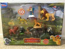 Disney Junior The Lion Guard King 10 Figures Pride Lands Figure Set Toys