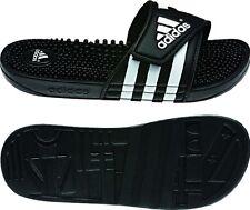 Womens Adidas Adissage Black Slides Shower Sandal Athletic Sport 087609 Sz 5-11